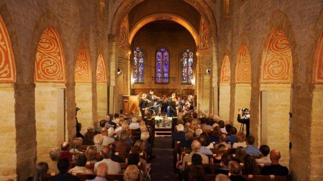 Quatuor Chiaroscuro play Schubert's Rosamunde