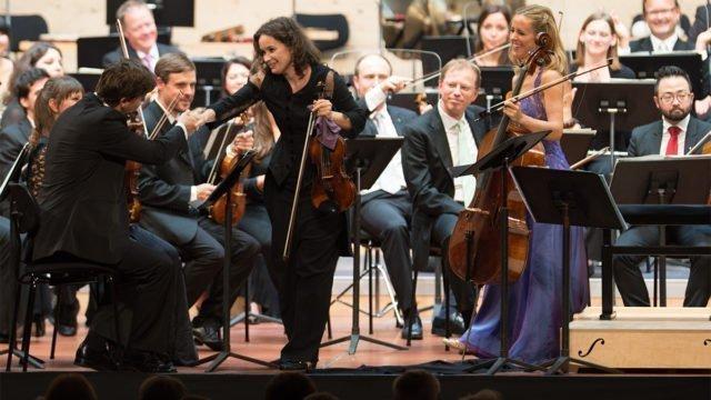 Sol Gabetta & Patricia Kopatchinskaja jouent «Dialgoue»