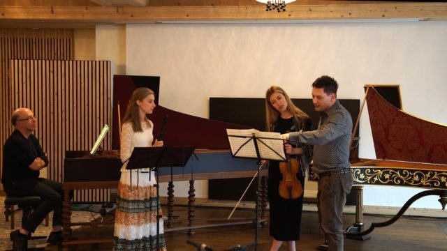 Gstaad Baroque Academy with Maurice Steger