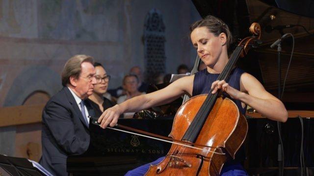 Sol Gabetta and Rudolf Buchbinder play a Schubert Sonatina