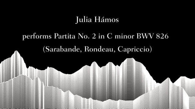 Masterclass with Sir Andràs Schiff – Julia Hamos performs Bach