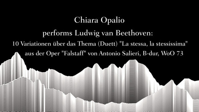 Masterclass with Sir Andràs Schiff – Chiara Opalio performs Beethoven