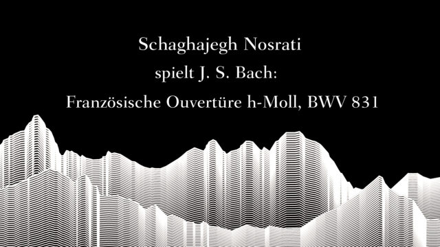 Masterclass with Sir András Schiff – Schaghajegh Nosrati plays Bach