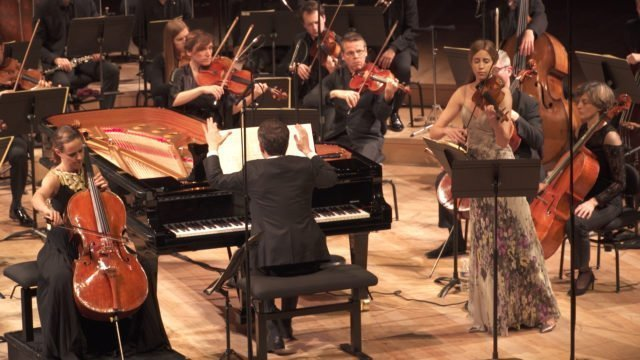 Bertrand Chamayou talks about the Gstaad Menuhin Festival and his interest in conducting