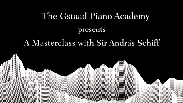The Piano Academy with Sir András Schiff