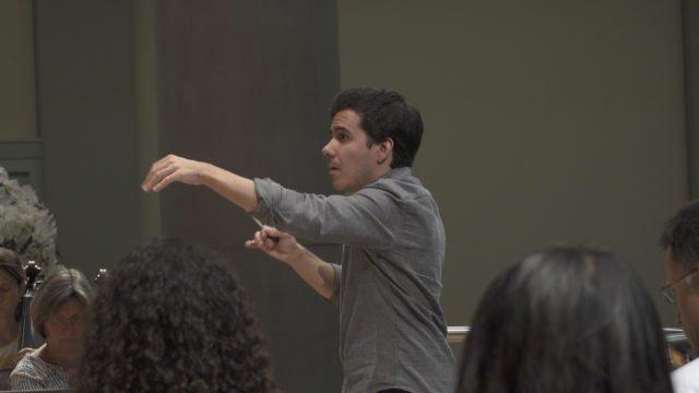 Nuno Coelho remembers the Gstaad Conducting Academy