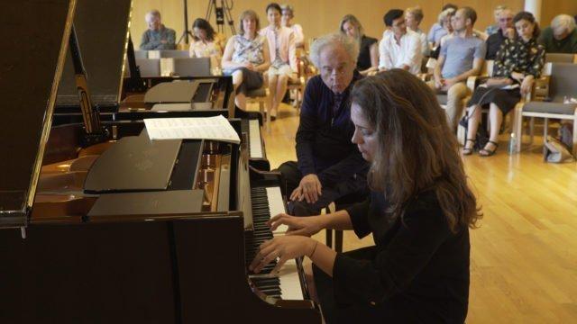 Masterclass with Sir András Schiff – Chiara Opalio plays Brahms