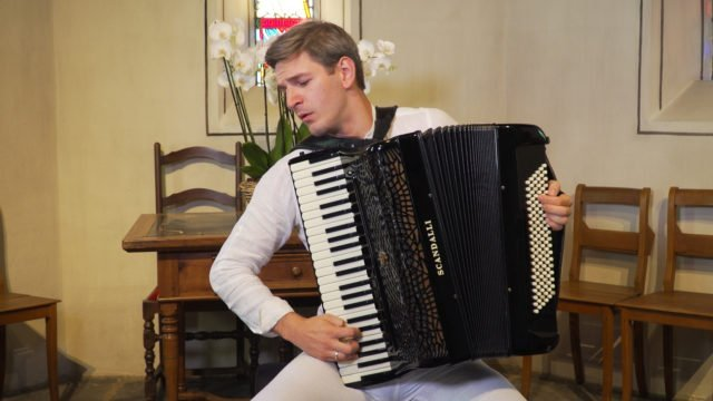 Augustinas Rakauskas talks about the accordion