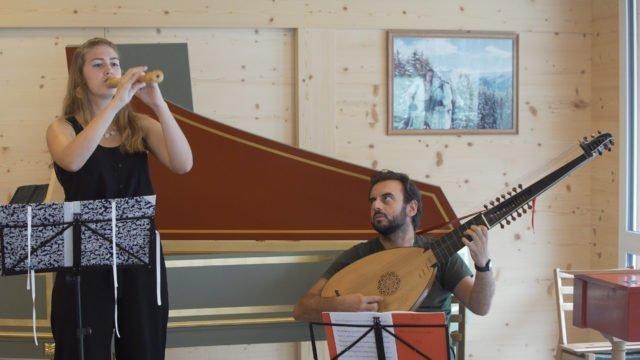 Gstaad Baroque Academy mit Maurice Steger: Detri