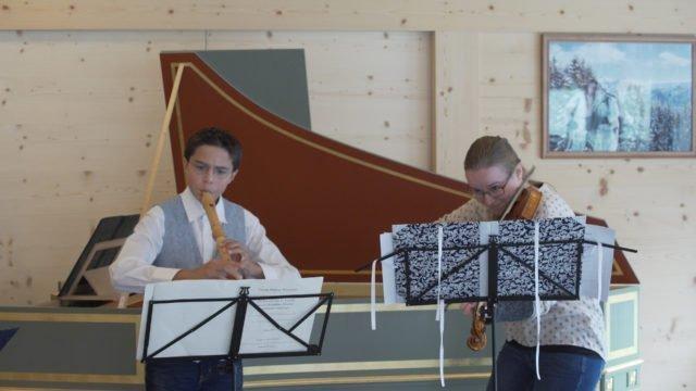 Gstaad Baroque Academy mit Maurice Steger: Telemanns Triosonate a Moll TWV 42:a1