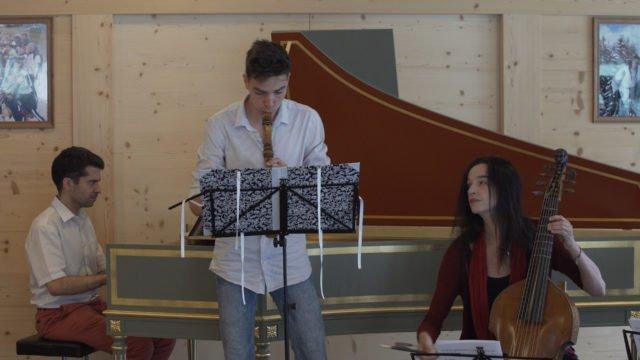 Gstaad Baroque Academy mit Maurice Steger: Telemann Triosonate
