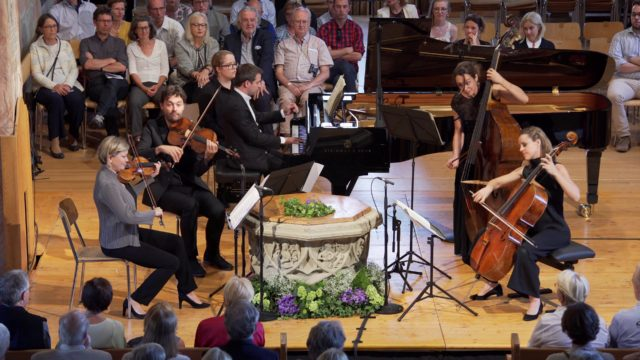 Ibragimova, Power, Gabetta & Chamayou play Schubert